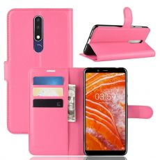 Luurinetti Flip Wallet Nokia 3.1 Plus rose