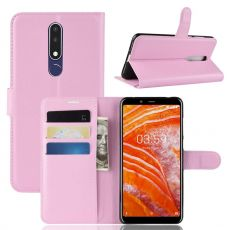 Luurinetti Flip Wallet Nokia 3.1 Plus pink