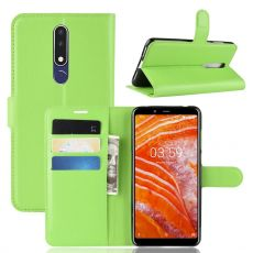 Luurinetti Flip Wallet Nokia 3.1 Plus green