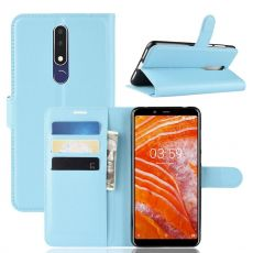 Luurinetti Flip Wallet Nokia 3.1 Plus blue