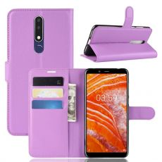 Luurinetti Flip Wallet Nokia 3.1 Plus purple