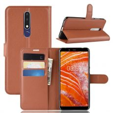 Luurinetti Flip Wallet Nokia 3.1 Plus brown