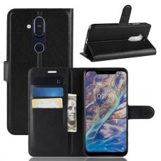 Luurinetti Flip Wallet Nokia 8.1 black