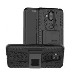 Luurinetti kuori tuella Nokia 8.1 black