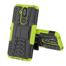 Luurinetti kuori tuella Nokia 8.1 green