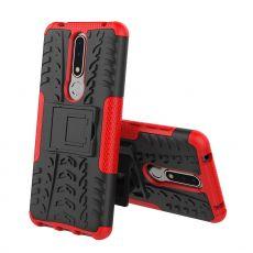 Luurinetti kuori tuella Nokia 3.1 Plus red