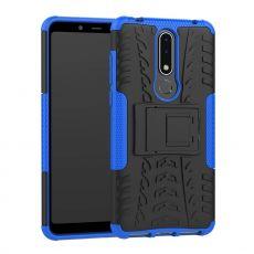 Luurinetti kuori tuella Nokia 3.1 Plus blue