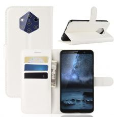 Luurinetti Flip Wallet Nokia 9 PureView white