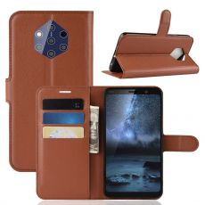 Luurinetti Flip Wallet Nokia 9 PureView brown