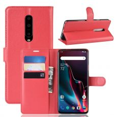 Luurinetti Flip Wallet OnePlus 7 Pro Red