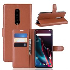 Luurinetti Flip Wallet OnePlus 7 Pro Brown