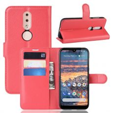 Luurinetti Flip Wallet Nokia 4.2 red