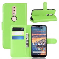 Luurinetti Flip Wallet Nokia 4.2 green