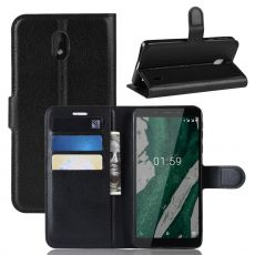 Luurinetti Flip Wallet Nokia 1 Plus Black