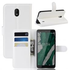 Luurinetti Flip Wallet Nokia 1 Plus White