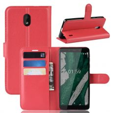Luurinetti Flip Wallet Nokia 1 Plus Red