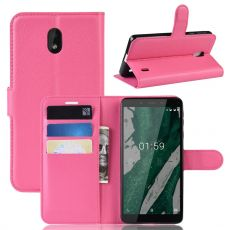 Luurinetti Flip Wallet Nokia 1 Plus Rose