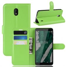 Luurinetti Flip Wallet Nokia 1 Plus Green