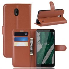 Luurinetti Flip Wallet Nokia 1 Plus Brown