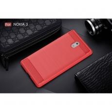 Luurinetti Nokia 3 TPU-suoja Red