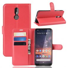 Luurinetti Flip Wallet Nokia 3.2 Red