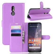 Luurinetti Flip Wallet Nokia 3.2 Purple
