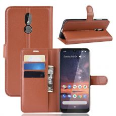 Luurinetti Flip Wallet Nokia 3.2 Brown
