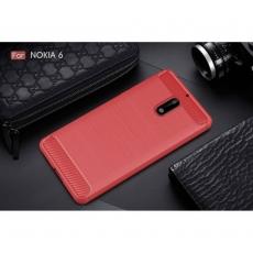Luurinetti Nokia 6 TPU-suoja Red