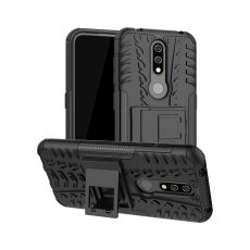 Luurinetti suojakuori tuella Nokia 4.2 Black