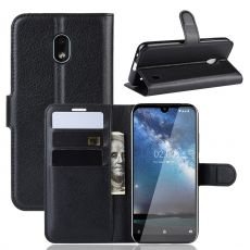 Luurinetti Flip Wallet Nokia 2.2 Black