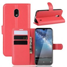Luurinetti Flip Wallet Nokia 2.2 Red