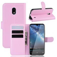 Luurinetti Flip Wallet Nokia 2.2 Pink