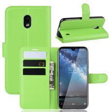Luurinetti Flip Wallet Nokia 2.2 Green