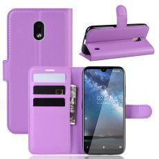 Luurinetti Flip Wallet Nokia 2.2 Purple