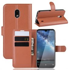 Luurinetti Flip Wallet Nokia 2.2 Brown