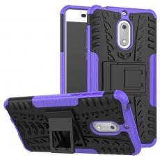 Luurinetti Nokia 6 suojakuori tuella purple
