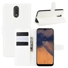 LN Flip Wallet Nokia 2.3 white