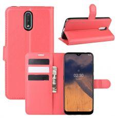 LN Flip Wallet Nokia 2.3 red