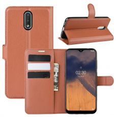 LN Flip Wallet Nokia 2.3 brown