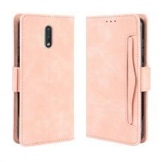 LN Flip Wallet 5card Nokia 2.3 pink