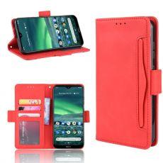 LN Flip Wallet 5card Nokia 2.3 red