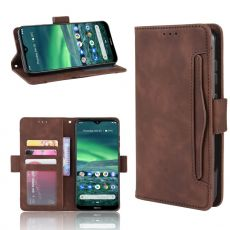 LN Flip Wallet 5card Nokia 2.3 brown
