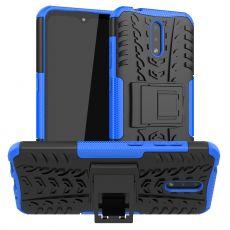 LN kuori tuella Nokia 2.3 blue