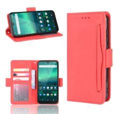LN 5card Flip Wallet Nokia 1.3 Red