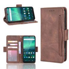 LN 5card Flip Wallet Nokia 1.3 Brown