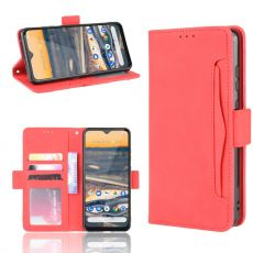 LN 5card Flip Wallet Nokia 5.3 Red