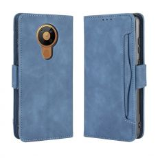 LN 5card Flip Wallet Nokia 5.3 Blue