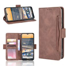 LN 5card Flip Wallet Nokia 5.3 Brown