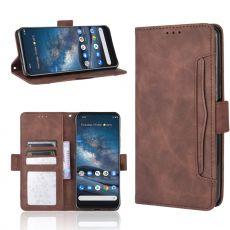 LN 5card Flip Wallet Nokia 8.3 5G brown