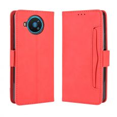 LN 5card Flip Wallet Nokia 8.3 5G red